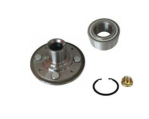 New Front Wheel Hub Bearing Kit 1998 2002 Honda Accord 2 3l Only With Nut Clip
