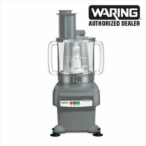 Waring Fp2200 Food Processor W 6 Qt Bowl Continuous Feed