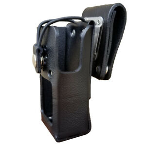 Case Guys Hy3040 3bw Hard Leather Holster For Hytera Pd 562 Radios