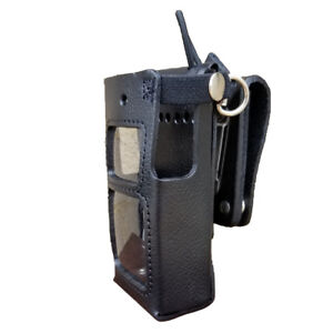 Case Guys Hy3030 3awd Hard Leather Holster For Hytera Pd682 Radios