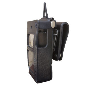 Case Guys Hy3030 3aw Hard Leather Holster For Hytera Pd682 Radios