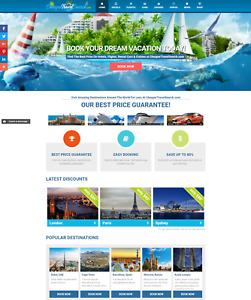 Premium Travel Search Engine Booking Turnkey Website Business Easy 1 4 lead