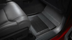 Toyota Tundra 2014 2019 Crew Max All Weather Rubber Floor Liner Mat Oem New