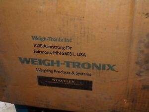 Weigh Tronix Wi 130 Indicator Scale Weight Display new