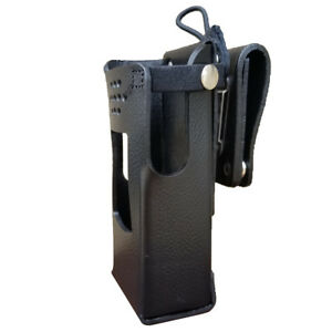 Case Guys Ge7325 3ax Hard Leather Holster For Harris Xl 200 Radios