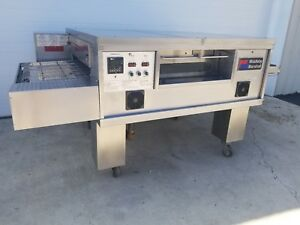 Middleby Marshall Ps555g Single Deck Conveyor Pizza Oven split Belt Conveyor