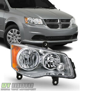 2011 2017 Dodge Grand Caravan 2008 2016 Town Country Headlight Passenger Side