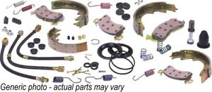 1958 Mercury Medalist Standard Brake Rebuild Kit Power