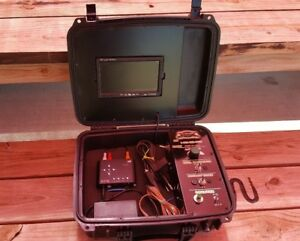 All Star Sewer Equipment Color Video Monitor Case Setup W o Sewer Camera Scope