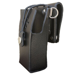 Case Guys Ge7295 3bxd Hard Leather Holster For Harris Hdp 100 Radios