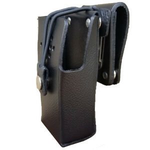 Case Guys Ge7295 3bx Hard Leather Holster For Harris Hdp 100 Radios