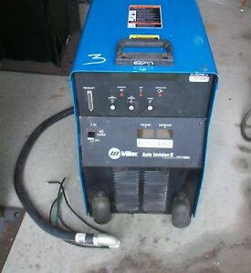 Miller Auto Invision Ii Arc Welding Power Source 230 460v 19 2kw