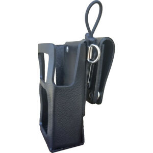 Case Guys Ge7290 3axd Hard Leather Holster For Harris Hdp 150 Radios