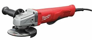Milwaukee 6141 30 4 1 2 Small Angle Grinder New In Box 11a 11 Amp Paddle Lock