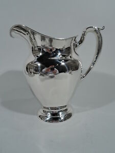 Gorham Water Pitcher 182 Traditional American Sterling Silver 1954