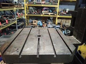 31 5 X 31 5 X 8 25 5 t slotted Weld Table_jig_set Up Table_steel Table