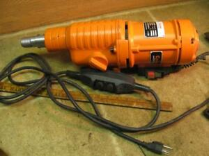 Cayken Scy 5050 3c Core Drill Motor 110 Volt 3 Speed 1 1 4 Threaded Shank