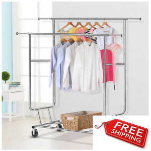 Commercial Strength Garment Rack Fashion Industry Design Student