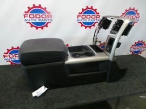13 14 15 16 17 Dodge Ram Black Center Floor Console With Dash Bezel Trim Oem