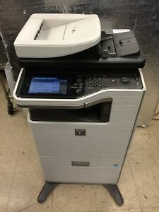 Sharp Mx b402sc A4 B w Workgroup Printer Copier Color Scanner Mfp Working