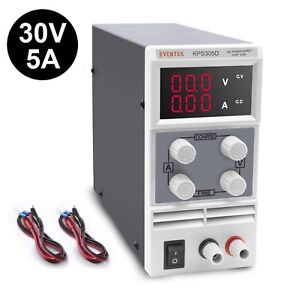 Dc Power Supply Variable Eventek Kps305d Adjustable Switching Regulated Powe