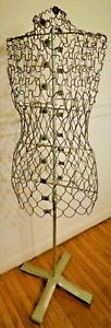 Vintage Dritz My Double Wire Dress Form W stand