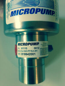 Micropump 81110 Magnetic Drive Pump Only 1 8 Npt Ports New