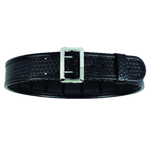 Bianchi 7960 Hi gloss Sam Browne Belt With Chrome Buckle size 34