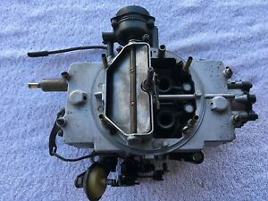 Autolite 4100 4 Barrel Carburetor 1 12 Automatic Trans 1966 Ford Galaxie