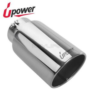 Upower Diesel General Bolt On Rear Exhaust Tip 5 Inlet 7 Outlet 15 Long