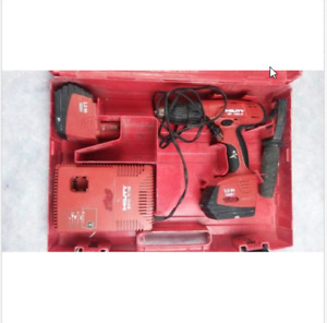 Hilti Sf 150a With Charger Battery And Case And Handle