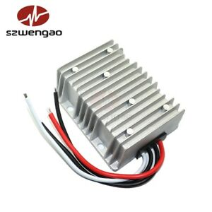 Dc dc Car Voltage Regulator 24v 12v To 13 8v 15a Car Power Converter