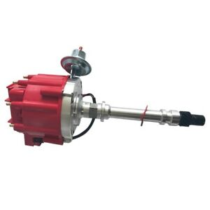 Fits Sbc 350 Bbc 454 V8 Chevy Aluminum Hei Electronic Ignition Distributor He