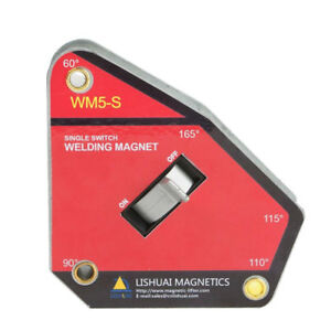 Strong Welding Corner Magnet Magnetic Holder Right Angle Square Clamp 6