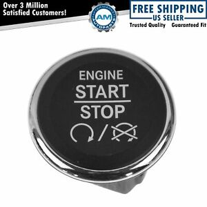 Oem Ignition Start Switch Dash Mount Push Button For Chrysler Dodge Jeep Mopar