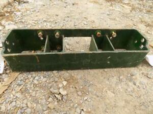 John Deere Front Weight Bracket Came Off A 1070 Tractor Fits More S p00485