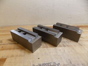 H R Manufacturing Square Lathe Chuck Jaw Set For 15 Lathe Chucks hr 115 2 5