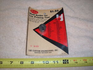 SHELL HOLDER FOR LEE PRIMING TOOL   SIZE  W