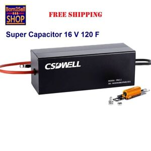 Supercapacitor Maxwell Csdwell 120f 16v Super Capacitor Module Power Supply 1 Pc