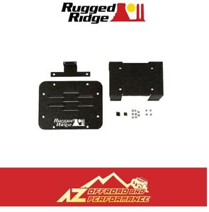 Rugged Ridge Tire Carrier Delete Kit 07 18 Jeep Wrangler Jk 11586 11 Black