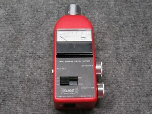 Quest Electronics Model 215 Sound Level Meter Type 2 Iec 651 tested Working