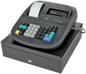 Royal 120dx Electronic Cash Register Light Gray
