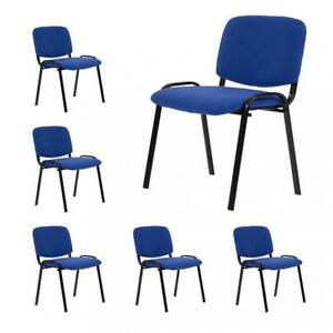 Guest Chair Reception Chairs Conference Chairs stack Meeting Side Chair Set Of 6