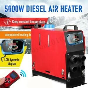 5000w Air Diesel Heater Lcd Monitor 5kw 12v For Trucks Motor homes Boats Bus Car