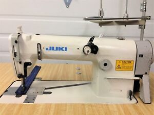 Juki Mh 481 Single Needle Chainstitch W reverse 220v Industrial Sewing Machine