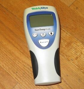 Welch Allyn Suretemp Plus 692 Thermometer No Temperature Probe Tested