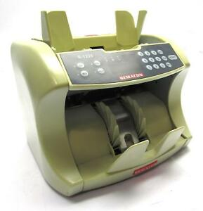 Semacon S 1225 Currency Counter Uv mg Counterfeit Detection High Performance