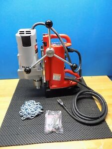 Milwaukee Portable Drill Press W Magnetic Base 3 4 Chuck 11 Travel 4206 1