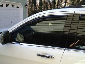 In Channel Rain Guards For Subaru Outback 2010 2014 4pc Set