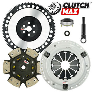 Cm Stage 3 Clutch Kit 8 Lbs Racing Flywheel For 89 91 Honda Civic Crx D15 D16